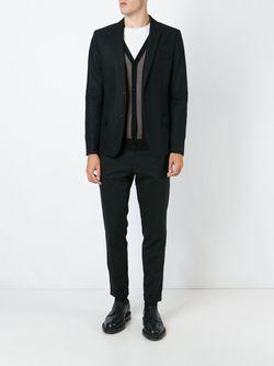 Two Button Blazer Ami Alexandre Mattiussi                                                                                                              черный цвет