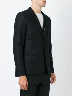 Two Button Blazer Ami Alexandre Mattiussi                                                                                                              чёрный цвет