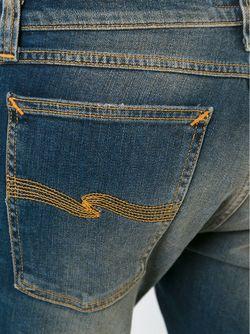 Джинсы Кроя Скинни Nudie Jeans Co                                                                                                              синий цвет
