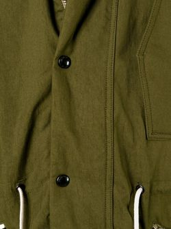 Парка На Резинке Paul Smith Jeans                                                                                                              зелёный цвет