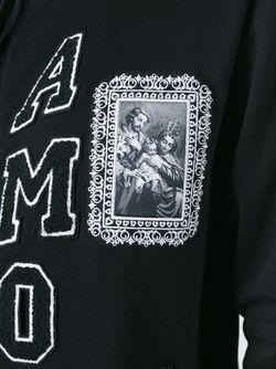 Толстовка На Молнии С Аппликацией Amore Dolce & Gabbana                                                                                                              чёрный цвет