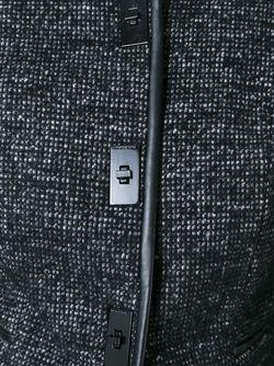 Пиджак С Твидовыми Панелями Michael Michael Kors                                                                                                              чёрный цвет
