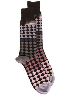 Geometric Pattern Socks Paul Smith                                                                                                              многоцветный цвет