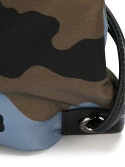 Рюкзак С Камуфляжным Принтом Valentino Garavani                                                                                                              зелёный цвет