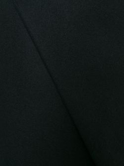 Юбка Асимметричного Кроя С Запахом Carven                                                                                                              чёрный цвет