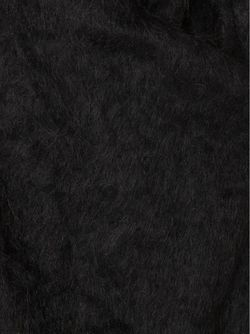 Пушистый Жилет С Запахом Barbara I Gongini                                                                                                              чёрный цвет