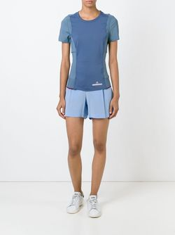 Футболка Run Perfect Adidas By Stella  Mccartney                                                                                                              синий цвет