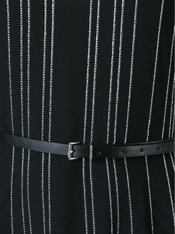 Полосатое Платье С Поясом Michael Michael Kors                                                                                                              черный цвет