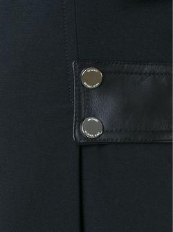 Платье С Круглым Вырезом И Поясом Michael Michael Kors                                                                                                              черный цвет