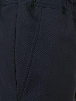 Укороченные Брюки С Заниженной Проймой Rick Owens                                                                                                              синий цвет