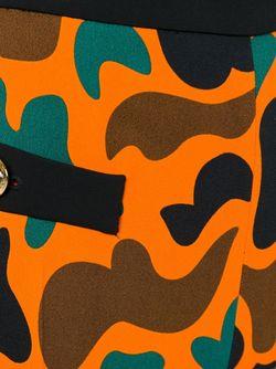 Брюки С Узором Moschino                                                                                                              желтый цвет