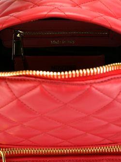 Стеганый Рюкзак Moschino                                                                                                              красный цвет