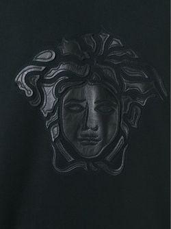 Толстовка С Аппликацией Medusa Versace                                                                                                              чёрный цвет