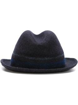 Шляпа Трилби Paul Smith                                                                                                              синий цвет
