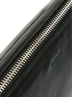 Клатч На Молнии DKNY                                                                                                              чёрный цвет