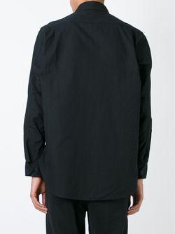 Рубашка С Застежкой На Пуговицах И Молнии Y-3                                                                                                              черный цвет