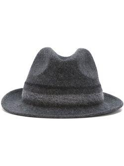 Классическая Шляпа-Федора Paul Smith                                                                                                              серый цвет