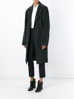 Свободное Пальто Maison Margiela                                                                                                              зелёный цвет