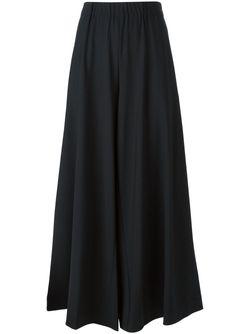 Широкие Брюки-Юбка ERIKA CAVALLINI SEMICOUTURE                                                                                                              черный цвет
