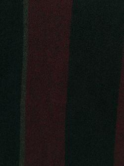 Пончо В Полоску С Бахромой 8pm                                                                                                              чёрный цвет