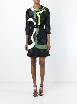 Платье Flip С Контрастными Деталями Peter Pilotto                                                                                                              чёрный цвет