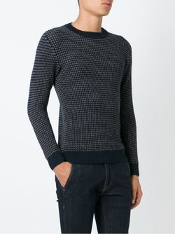 Crew Neck Sweater Zanone                                                                                                              синий цвет