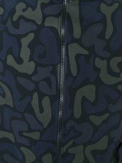 Толстовка С Камуфляжным Принтом Y-3                                                                                                              зелёный цвет