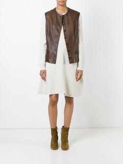 Buttoned Gilet PIERRE CARDIN VINTAGE                                                                                                              коричневый цвет