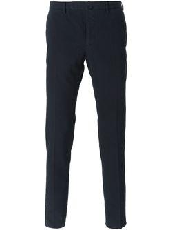 Slim Fit Trousers Incotex                                                                                                              синий цвет