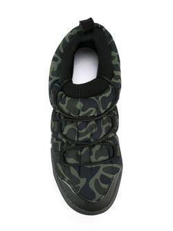 Кроссовки С Камуфляжным Принтом Y-3                                                                                                              зелёный цвет