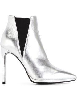 Ботинки Janis 105 Saint Laurent                                                                                                              серебристый цвет