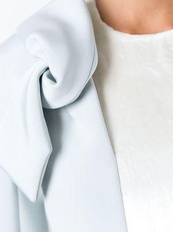 Платье С Узлами На Плечах Delpozo                                                                                                              синий цвет