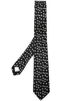 Галстук С Цветочной Вышивкой Valentino Garavani                                                                                                              чёрный цвет