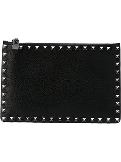 Клатч Rockstud Valentino Garavani                                                                                                              чёрный цвет