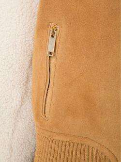 Куртка С Высоким Воротником OFF-WHITE                                                                                                              коричневый цвет