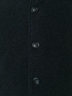 Однобортное Пальто Z Zegna                                                                                                              чёрный цвет