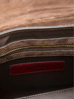 Сумка На Плечо С Леопардовым Принтом Valentino Garavani                                                                                                              коричневый цвет
