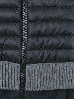 Кардиган С Пуховой Дутой Панелью Moncler                                                                                                              черный цвет