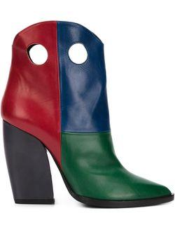 Marfa Boots Pierre Hardy                                                                                                              красный цвет