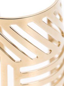 Кафф С Геометрическим Дизайном Pierre Hardy                                                                                                              желтый цвет