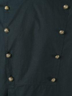 Рубашка В Стиле Милитари Balmain                                                                                                              чёрный цвет