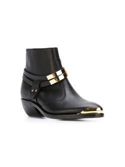 Ботинки По Щиколотку Balmain                                                                                                              черный цвет