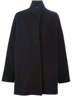 Свободное Пальто Maison Margiela                                                                                                              синий цвет