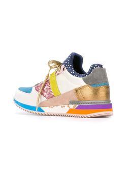 Кроссовки С Панельным Дизайном Dolce & Gabbana                                                                                                              многоцветный цвет