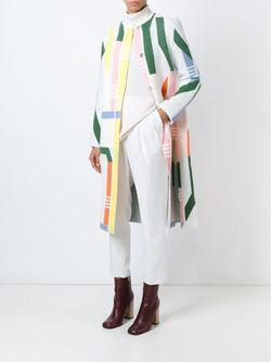 Вязаное Пальто Track Peter Pilotto                                                                                                              белый цвет