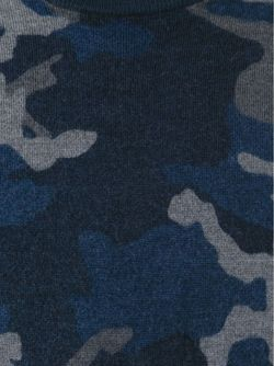 Свитер С Камуфляжным Принтом Michael Kors                                                                                                              синий цвет