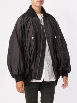 Oversized Bomber Jacket Undercover                                                                                                              черный цвет