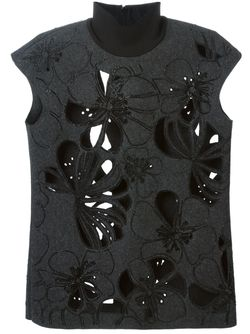 Sleeveless Top Marni                                                                                                              серый цвет