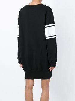 Платье-Толстовка Alexandre Vauthier                                                                                                              чёрный цвет