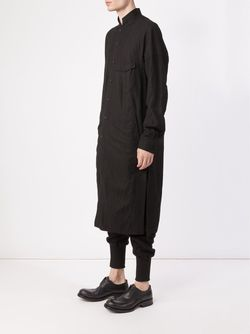 Long Shirt Jacket ZIGGY CHEN                                                                                                              чёрный цвет